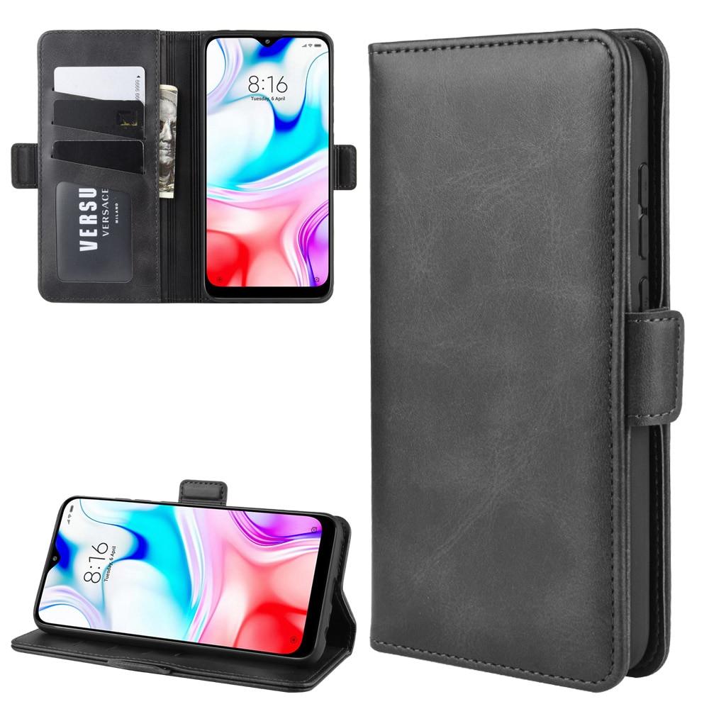 Case For Xiaomi Redmi 8 Leather Wallet Flip Cover Vintage Magnet Phone Case For Redmi 8 Coque