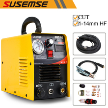 IGBT 50A HF air plasma cutter machine CUT 14mm 220V consumables