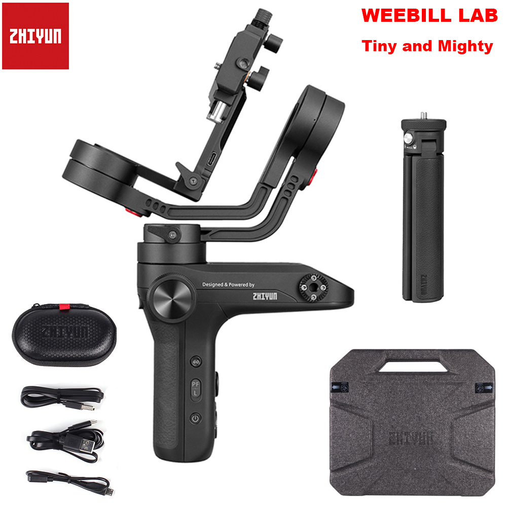 ZHIYUN Weebill LAB 3 Axis Wireless Image Transm Handheld Camera Gimbal Stabilizer for Mirrorless Cameras OLED