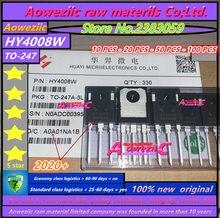 Aoweziic 2020 + 10PCS   20 PCS   50 PCS   100 PCS 100% nuovo originale HY4008 HY4008W PER 247 MOSFET inverter Ultra circuito integrato 80V 200A
