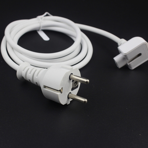 Image 2 - New AC Power Adapter EU Europe Plug Extension Cord 1.8M 6ft Cable For Mac for MacBook Pro Laptop Adapter Charger Type