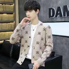 Новый стиль красный свитер в сеточку пальто Мужская модная брендовая