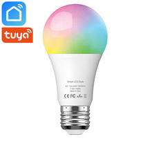 Tuya Smart Life Wifi Led Light Bulb Lamp E27 7.5W 750Lm RGB+6500K Cold White Works With Alexa Google Home IFTTT