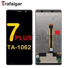 TrafalgarจอแสดงผลสำหรับNokia 7 PlusจอแสดงผลLCDหน้าจอสัมผัสTA 1062 1046 1055 1062 สำหรับNokia 7 Plusเปลี่ยนจอแสดงผล
