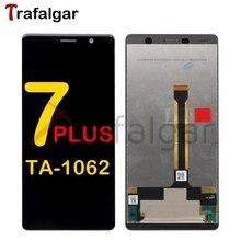 Trafalgar Nokia 7 artı LCD ekran dokunmatik ekran TA 1062 1046 1055 1062 için Nokia 7 artı ekran değiştirme