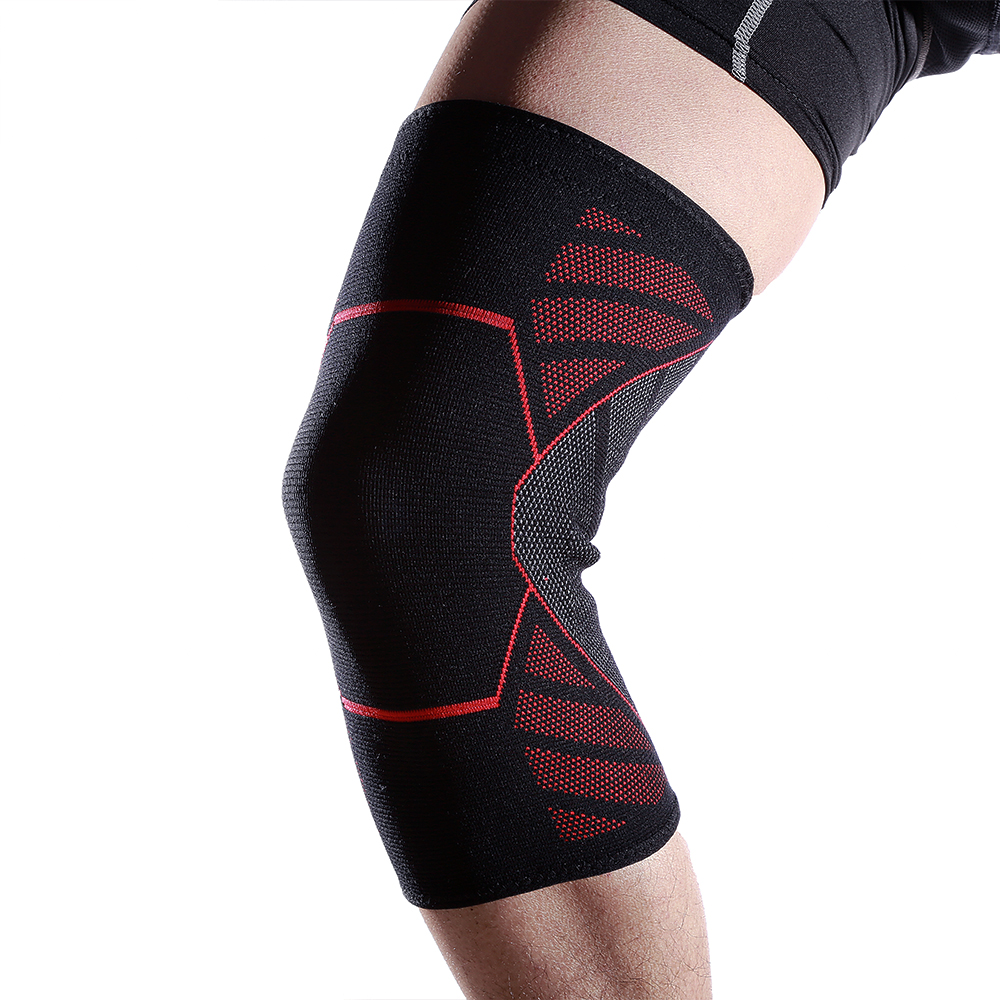 Non-slip Knit Protective Knee Pads Running Basketball Mountaineering Outdoor Sports Unisex