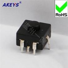 10 PCS YT-1212-315V lamp flashlight switch button self-locking