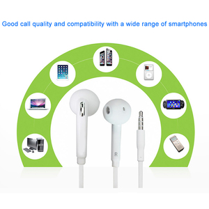Image 2 - Samsung Original EO EG920 S6 Earphone In ear With control Speaker Wired 3.5mm headsets With Mic 1.2m In ear Sport Earphones