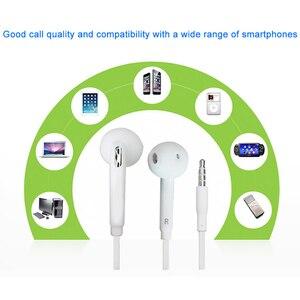 Image 2 - Samsung orijinal EO EG920 S6 kulaklık In ear kontrol hoparlör kablolu 3.5mm kulaklık mikrofon ile 1.2m kulak spor kulaklık