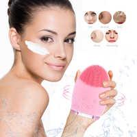 Nettoyage du visage brosse électrique nettoyage du visage brosse imperméable beauté nettoyage en profondeur enlever points noirs pores nettoyant VIP Drop