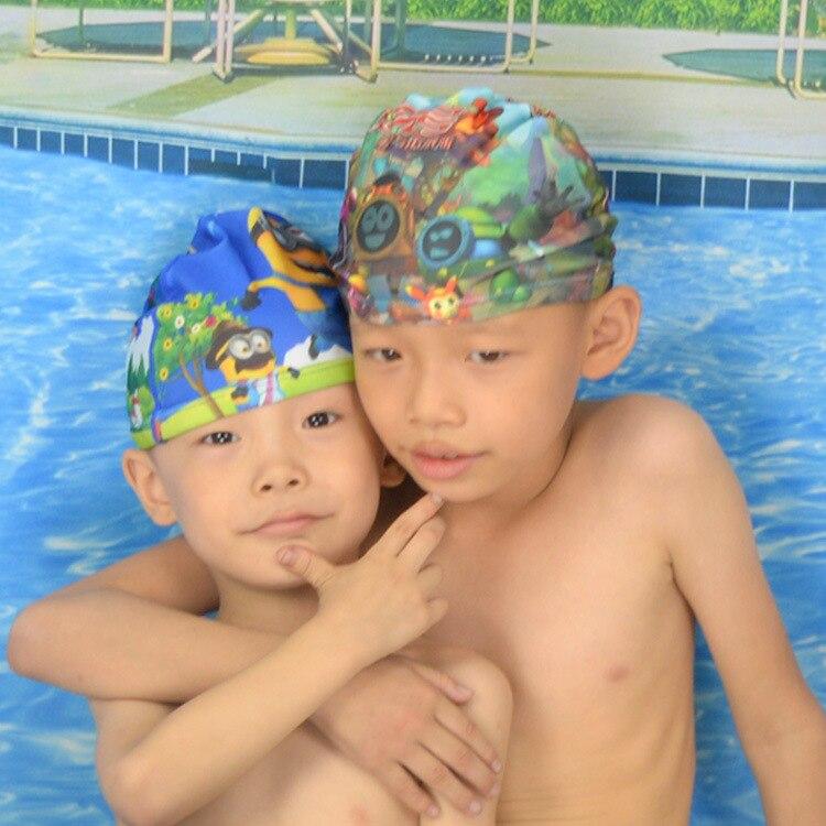 Genuine Product High Grade Digital Printing Crawler Set Trousers Digital Swimming Cap Crawler Swimming Trunks (9-15-Year-Old)