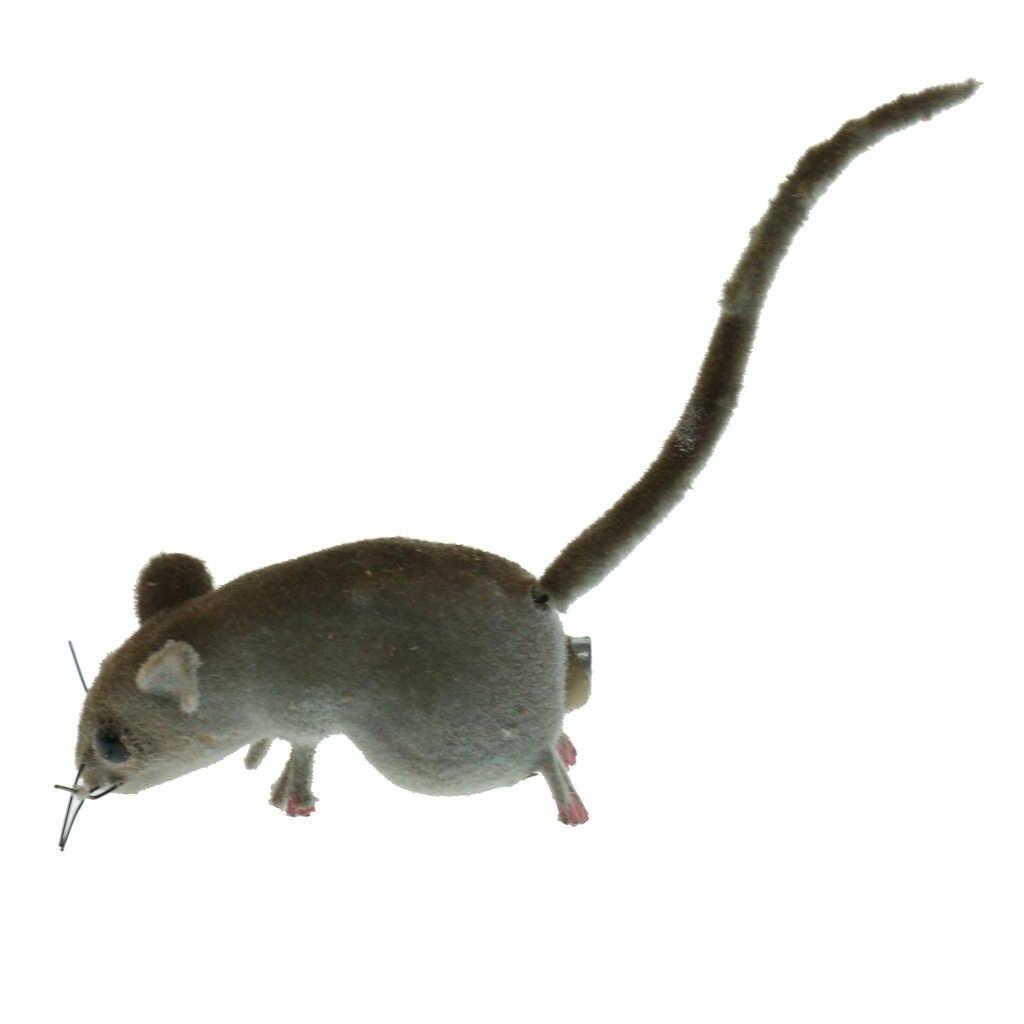 Thực Tế Chuột Tượng Có Nam Châm Sống Động Như Thật Chuột Mẫu Nhân Tạo Động Vật Vật Trang Trí Cho Trang Trí Sân Vườn Đồ ChơI Mèo Màu Ngẫu Nhiên