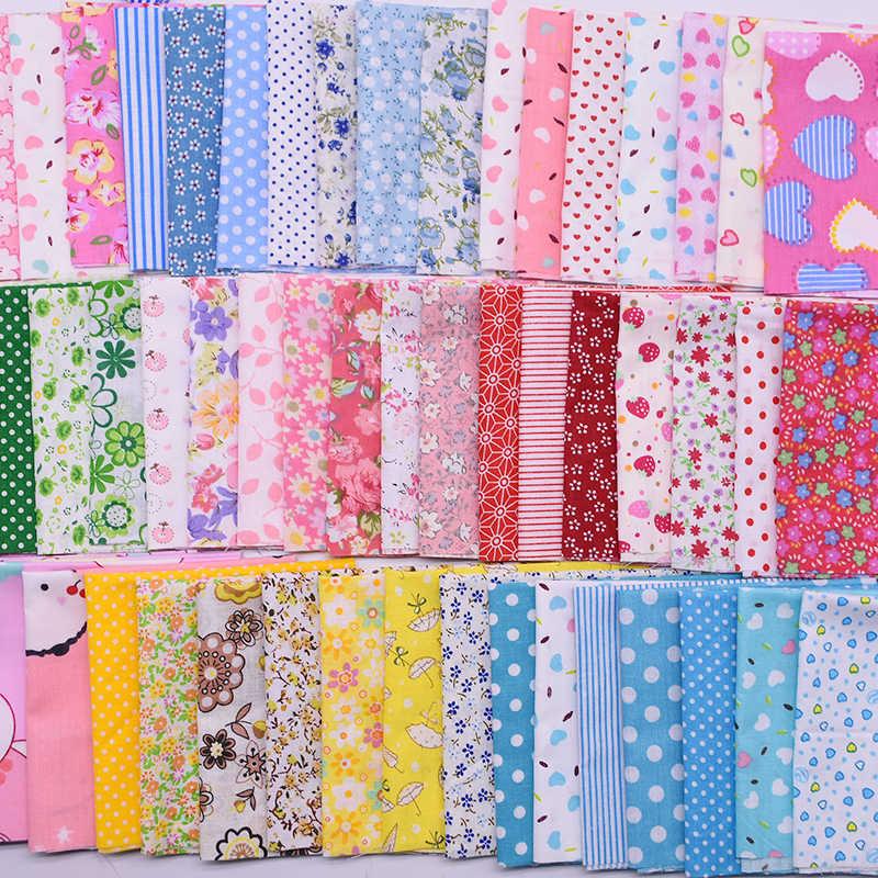 20x2 5センチメートル/25 × 25センチメートルさまざまなパターン手作りパッチワークコットン生地プリント布縫製キルティング生地diy裁縫材料