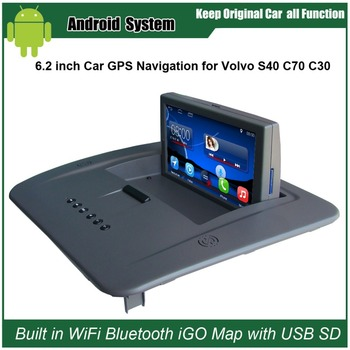 6.2 inch Android 7.1 Capacitance Touch Screen Car Media Player for VOLVO S40 C30 C70 GPS Navigation Bluetooth Video player image