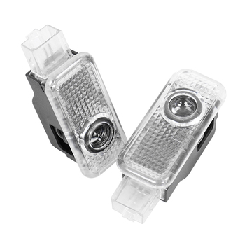 2pc samochodu LED drzwiowe światło wejściowe dla A3 A4 B5 B6 B7 B8 A5 C5 A6 C6 C7 A1 A7 A8 Q3 Q7 TT 80 90 100 8L wystrój żarówka jak dzięki uprzejmości lampy tanie i dobre opinie CN (pochodzenie) Witamy Światło Car Door Light Car Welcome Light car gadgets Car lights Led lights for auto Car led lights