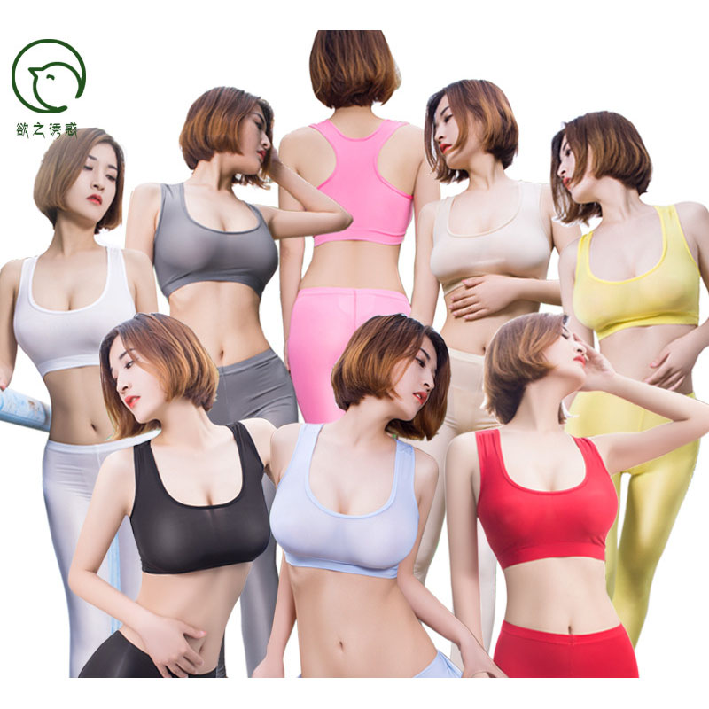 Sexy Candy Color See Through Bustier Tank Top Femme Fitness Skinny Crop Tops Sleeveless Womens Clothing Croptop Cropped Shirt