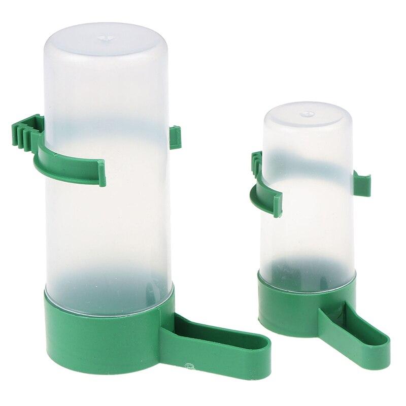 Bird Water Drinker Feeder Waterer with Clip Pet Bird Supplies Dispenser Bottle Drinking Cup Bowls For Pet Parrot Cage