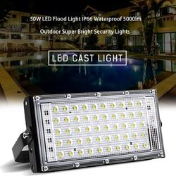 Bezpieczeństwa LED reflektor 50W światło halogenowe s kryty odkryty ogród wodoodporna lampa na zewnątrz światło halogenowe led światło halogenowe 220v dropship
