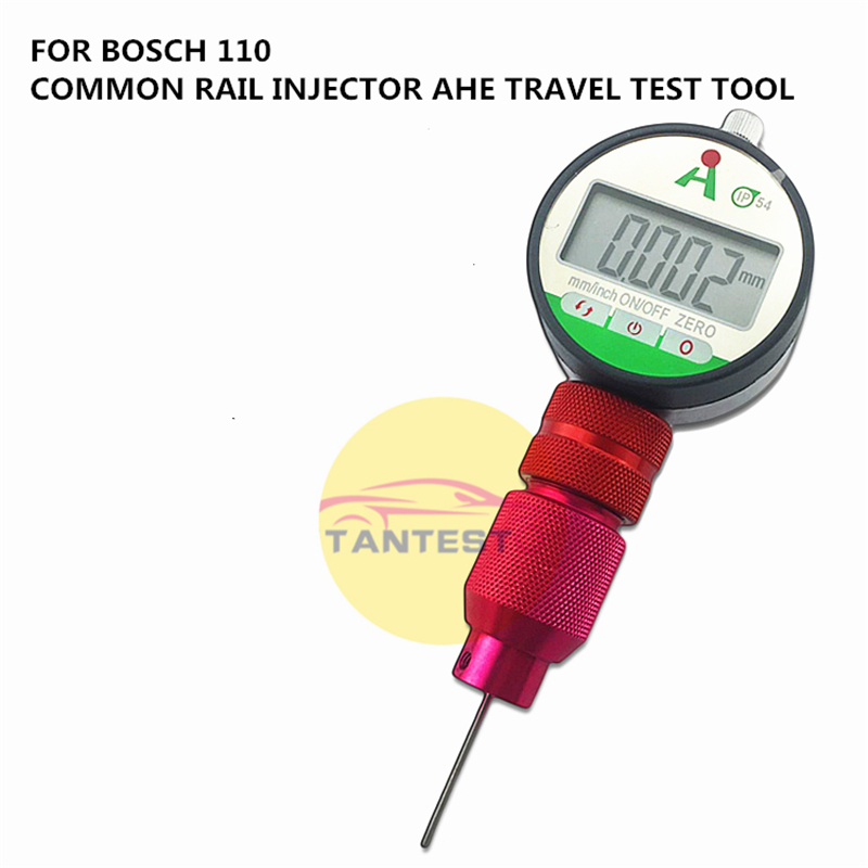 FOR BOSCH 0445 110 Diesel Common Rail Injector AHE Armature Lift Dynamic Travel Test Tools