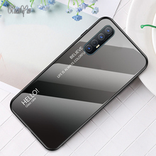 XUANYAO Phone Cases Realme X XT 1 2 3 5 X2 Pro Case Glass Coque For OPPO Realme X2 Pro X XT C2 2 3 5 Pro Case Silicone Soft Edge клюшка для гольфа new 1 x 2 5 diamana ilima x2 hot