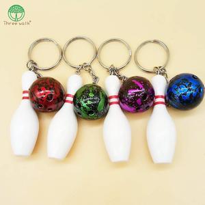 Projekt fajne luksusowe sport breloki brelok do kluczy brelok do kluczy do gry w kręgle łańcuch wisiorek kolor dla człowieka kobiet prezent hurtownie