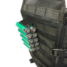Tactische Molle Magazine Pouch 12GA Shotgun Shell Munitie Carrier 10 Ronde Met Clip 12 Gauge Shell Houder Militaire Accessoires
