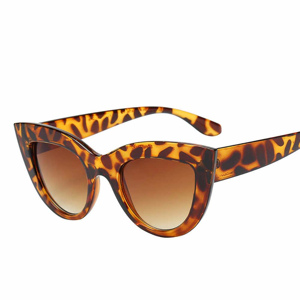 Mata Kucing Wanita Kacamata Bingkai Berwarna Lensa Warna Pria Vintage Berbentuk Matahari Kacamata Perempuan Kacamata Biru Kacamata Merek Desainer