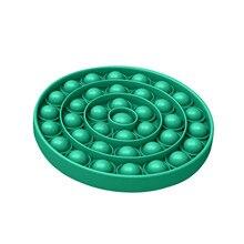 Fidget Toys Simple Dimple Love Push Bubble Fidget Sensory Toy Autism Special Needs Stress Reliever Poppit Toys Fidget Antistress