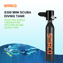 SMACO dive scuba Equipment Mini Scuba Diving Cylinder Oxygen Tank for Snorkeling Underwater Breathing Device