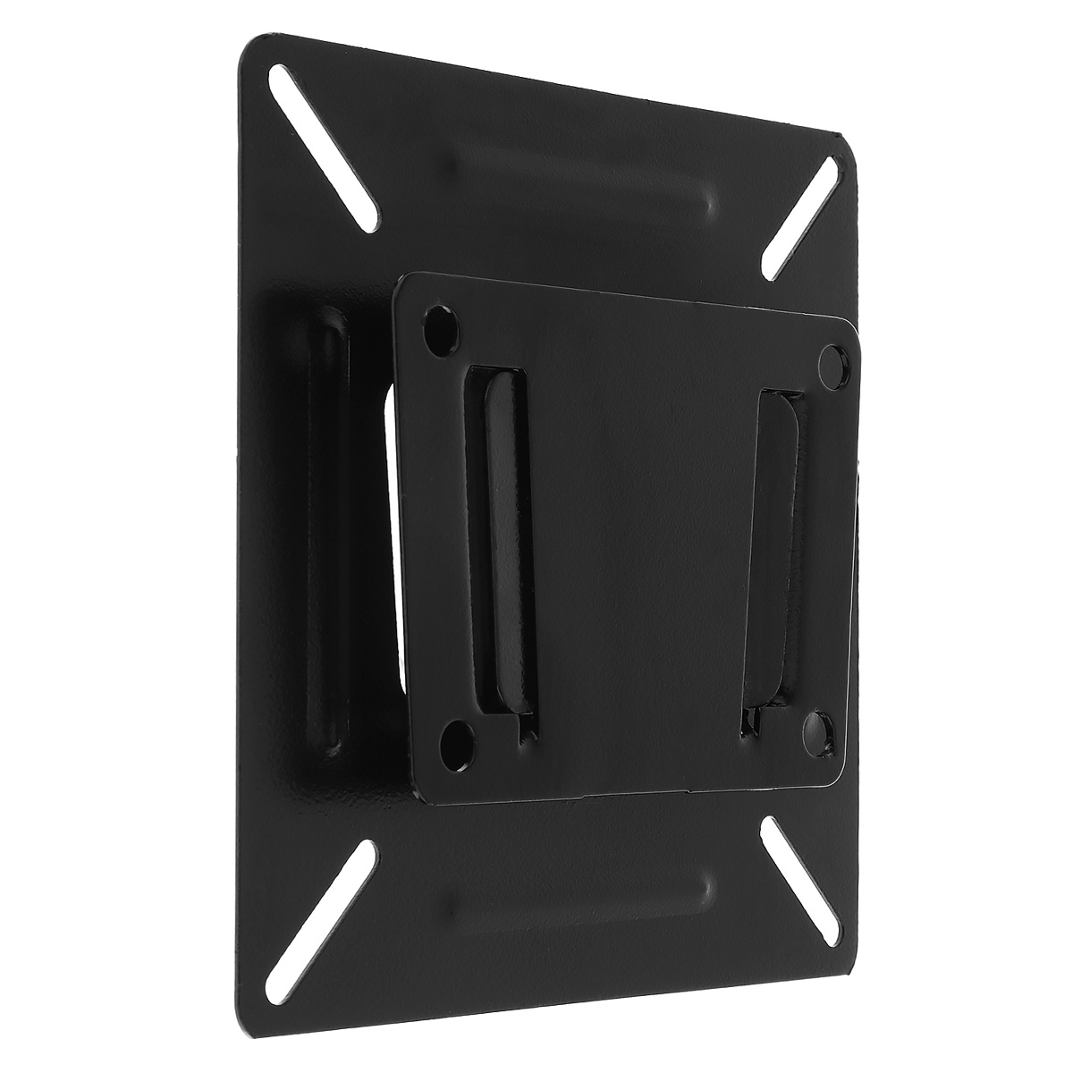 Universal Black 15KG SPHC with Coating Finished TV Wall Mount Bracket for 14-24 Inch LCD LED Monitor Flat Panel TV Frame