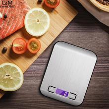 Цифровые весы 5 кг 1 г кухонные электронные весы с ЖК-дисплеем точные весы для кухни выпечки bascula cocina