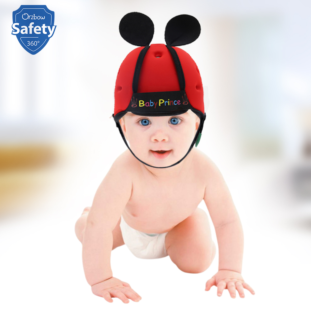 Baby Safety Helmet Toddler Walking Anti-collision Protective Hats & Caps Adjustable Soft Comfortable Head Security & Protection