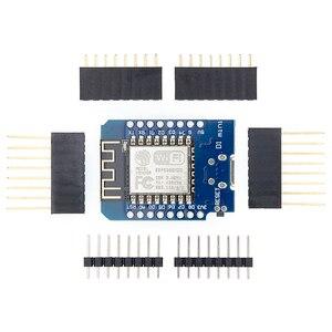Image 5 - 50pcs D1 mini Mini 4M byte di Lua WIFI Internet delle Cose scheda di sviluppo basata ESP8266 da WeMos