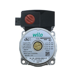 Gas Boiler Part Water Circulation Pump Motor for Wilo NFSL12/6 Apply to Power 82W/83W(5#)