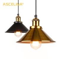 Industrial pingente de luz do vintage lâmpada pingente pendurado moderna pingente teto lâmpadas led restaurante sala estar decoração|Luzes de pendentes| |  -
