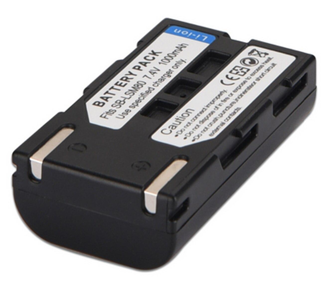 Cargador de batería Micro USB para Samsung vp-d362//vp-d364w//vp-d371