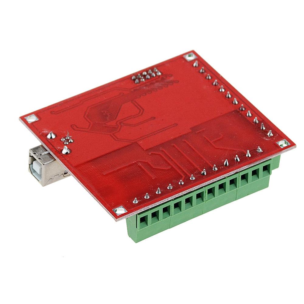 Image 5 - 3PCS/SET 1PCS MACH3 Breakout board +1PCS USB Wire+1PCS CD CNC USB 100Khz 4 axis interface driver motion controller driver boardMotor Driver   -