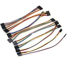 Перемычка Dupont, 5 шт., 2-2 контакта, 3-3 контакта, 4p, 5p, 6 контактов, 7 контактов, 8 контактов, 9 контактов, 10 контактов, кабель Dupont для набора «сделай с...