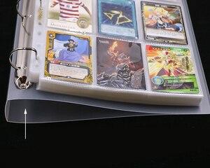 Image 3 - 900 Thẻ Dung Lượng Thẻ Giá Đỡ Chất Kết Dính Album Cho CCG MTK Magic Yugioh Bảng Trò Chơi Thẻ Quyển Sách Giá Đỡ