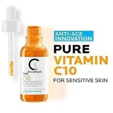 GPGP GreenPeople 10ml Pure Vitamin C10 Face Sreum Hyaluronic Acid Skin Care Oil Whitening