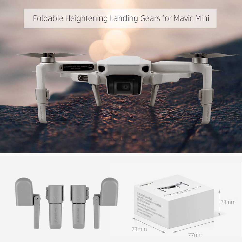 4Pc Extension Landing Gear Legs Support Protector For DJI Mavic Air Accessory US