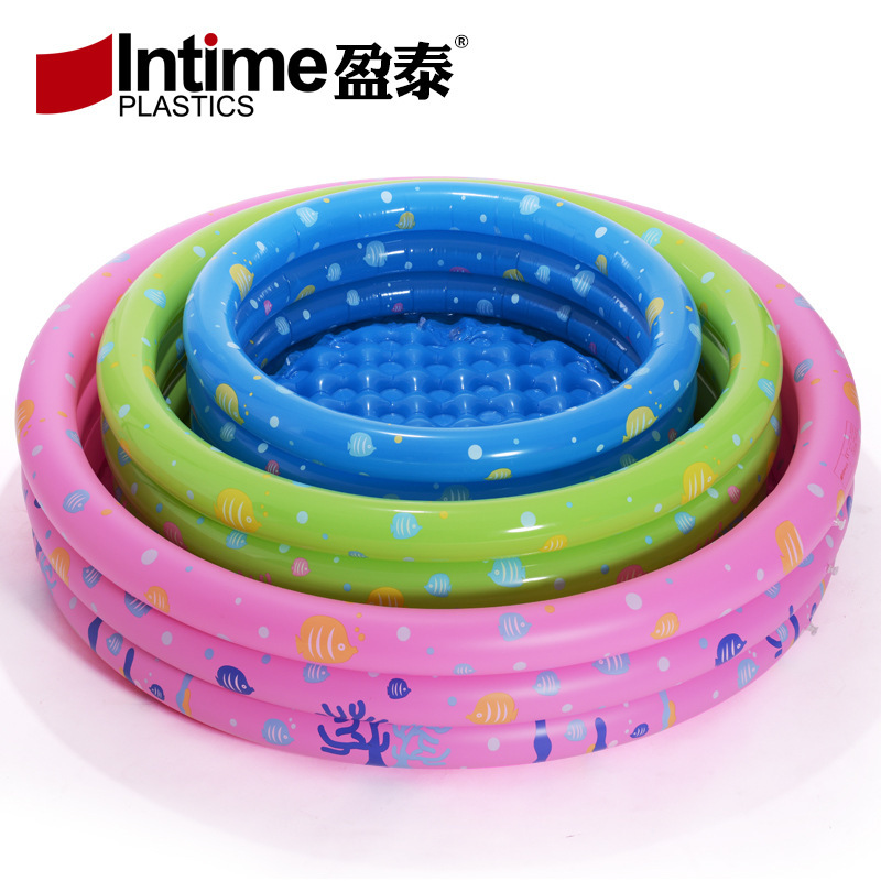 Intime YT-318 New Style 150 Four-Ring Circle Baby Play With Water Swimming Pool Oceans Ball Pool Children Fishing Pond