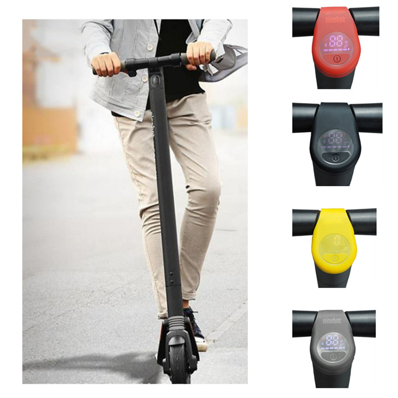 Electric Scooter Dashboard Cover Horn Bell Anti-scratch for Ninebot ES1 ES2 ES4 scooter Silicone Bicycle Accessories image