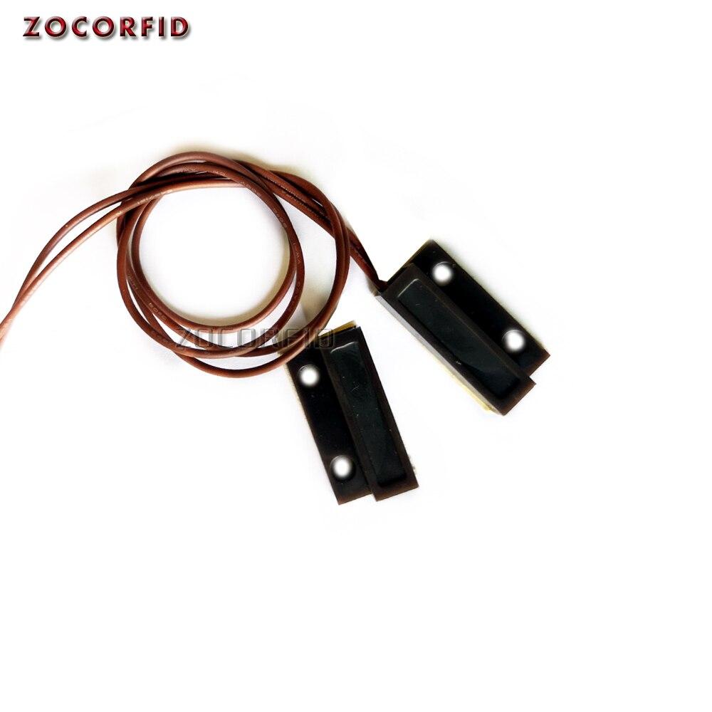 O envio gratuito de MC-38 com fio porta janela sensor detector interruptor magnético normalmente fechado para o sistema alarme segurança