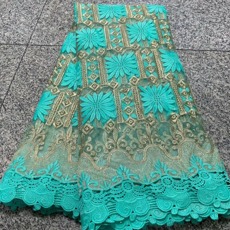 Tulle Embroidery French Lace High Quality Nigerian African Lace Fabrics For Evening Dress Wedding Pagne Africain Tissue Lace