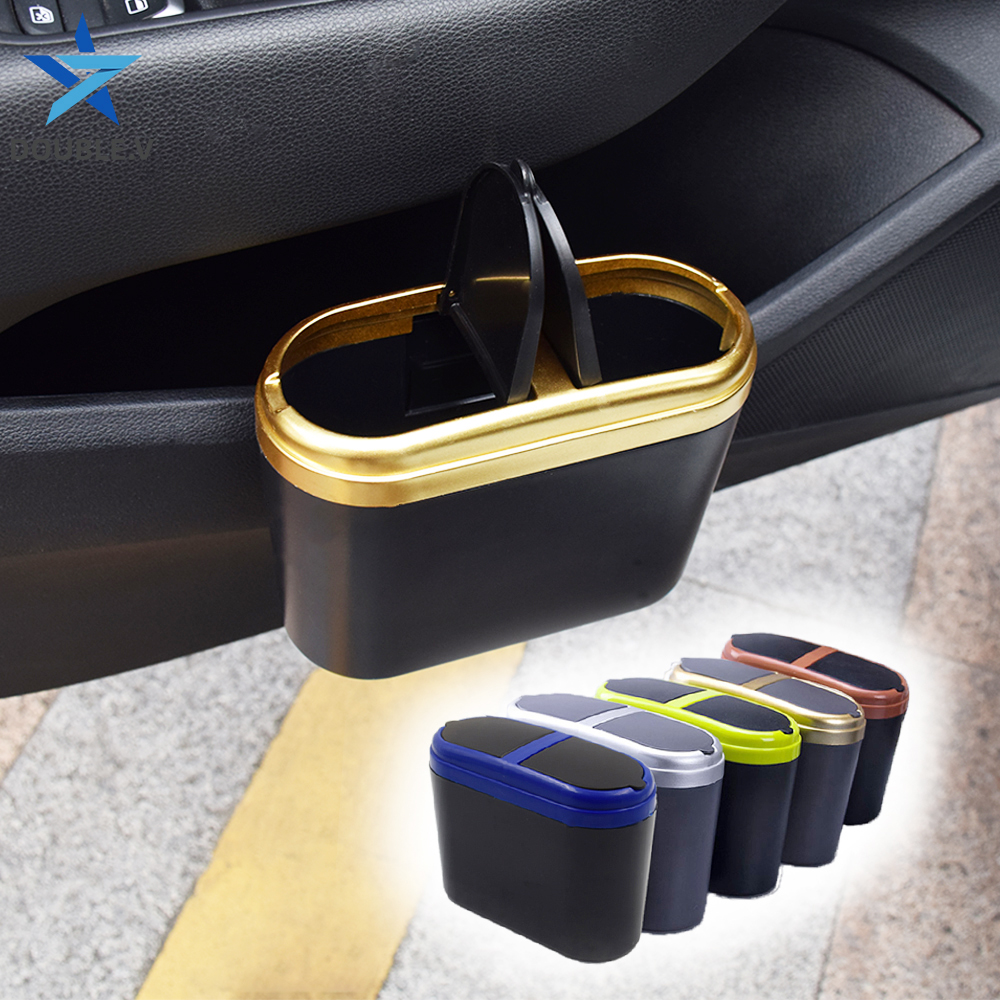 Cubo de basura Universal para coche cubo de basura para coche bolsa de papel de cesta para coche Auto afval bolsa para basura para NISSAN qashqai KIA