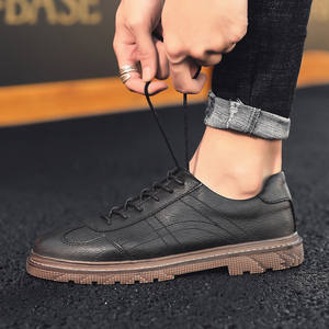 Image 5 - Men Shoes Dress Retro Design Classic Business Formal Shoes PU Leather Dress Shoe Men Oxford Male Footwear Lace up Calzado Hombre