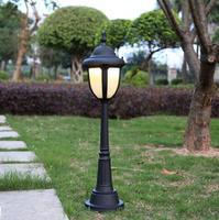 European outdoor rasen lampe im freien wasserdichte villa rasen straße lampe Amerikanischen led garten lampe landschaft straße lampe