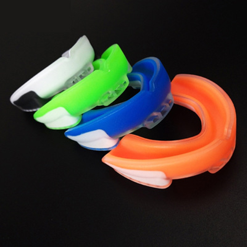 Boxing Mouthguard Safety Mouth Guard Oral Teeth Protect Adult Football Mouthguard