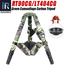 RT90CG Camouflage Carbon Fiber Tripod for Canon Nikon DSLR Cameras Professional Birdwatching Heavy Duty Camera Stand 40kg Load